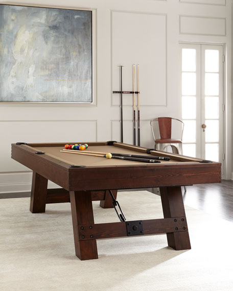 Riviera Pool Table & Pool Table With Table Tennis