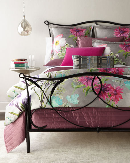Queen Madhuri Camellia Duvet Cover