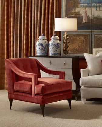 Blaze Chair & Ottoman