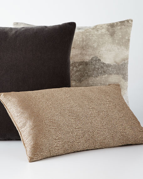Bach Persian Gray Mohair Pillow