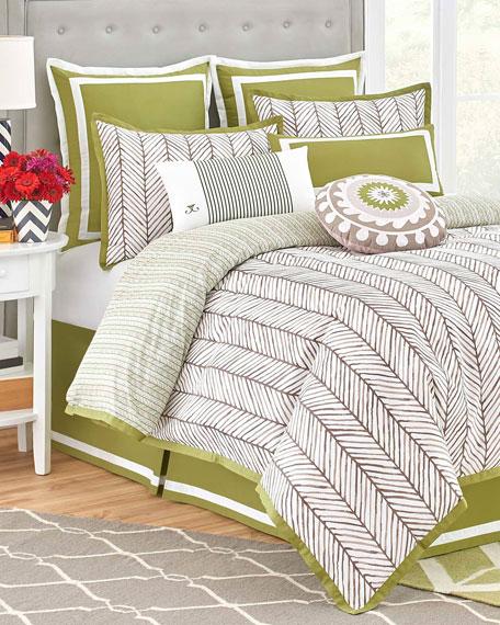 Queen Arrows 4-Piece Comforter Set