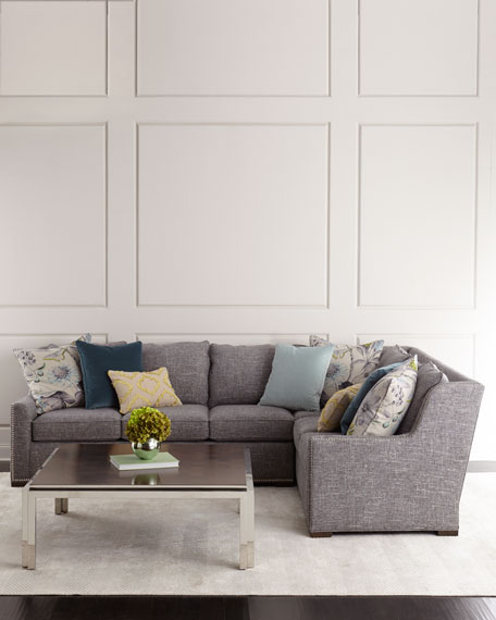 Augustine Right-Arm Sectional Sofa