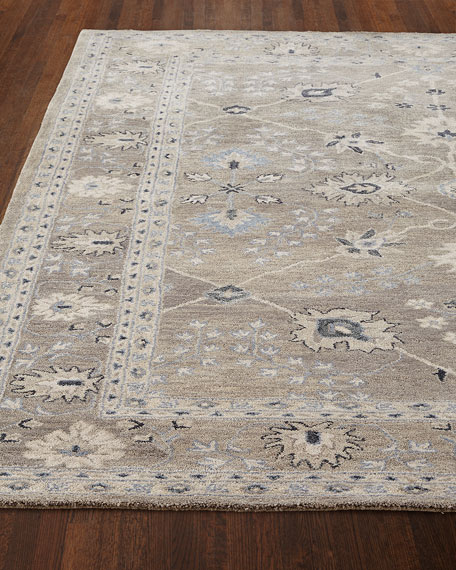 Gilma Gray Hand Tufted Rug, 8' x 11'