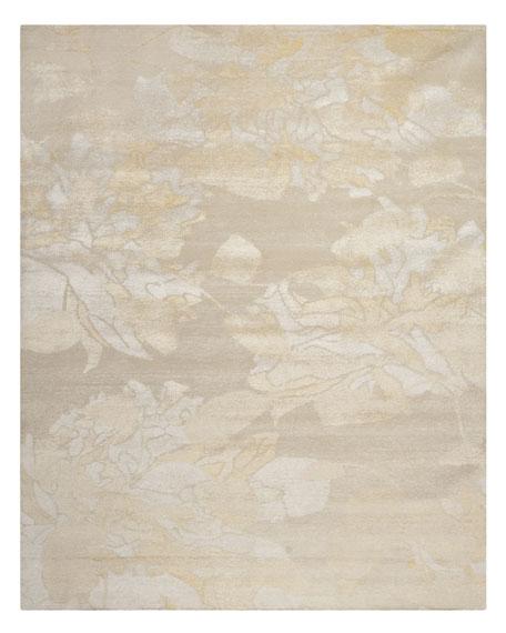 Petal Floral Wash Rug, 9' x 12'