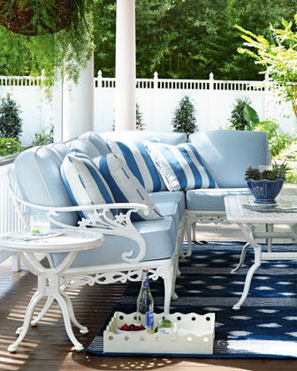 Day Lily Left-Arm Outdoor Chair & Matching Items