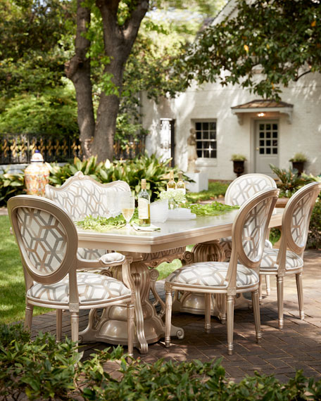 Gorgeous outdoor dining set