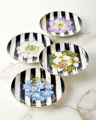 Thistle & Bee Salad Plates