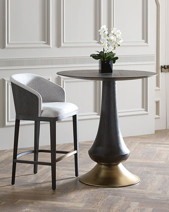 Zaria Pub Table & Laurie Upholstered Barstool