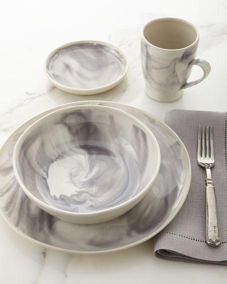 Marbleized Dessert Plate