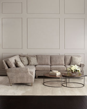 Molly Right-Side Sectional Sofa and Matching Items