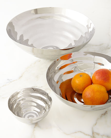 Ripple Effect Medium Serving Bowl