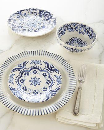 Iberian Indigo Dinnerware