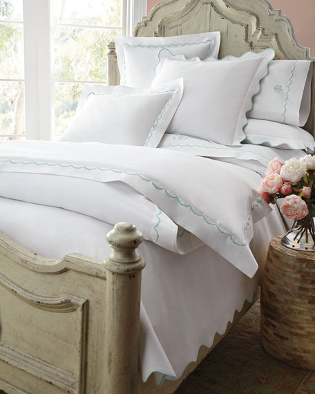 Full/Queen Lanai Pique Coverlet