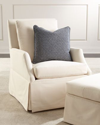 Austin Rocking Chair & Ottoman