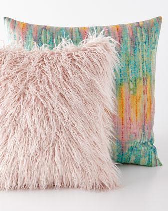 Faux-Llama & Igneous Tourmaline Pillows
