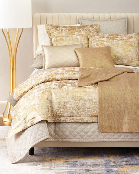 King 4-Piece Raffia Coverlet Set
