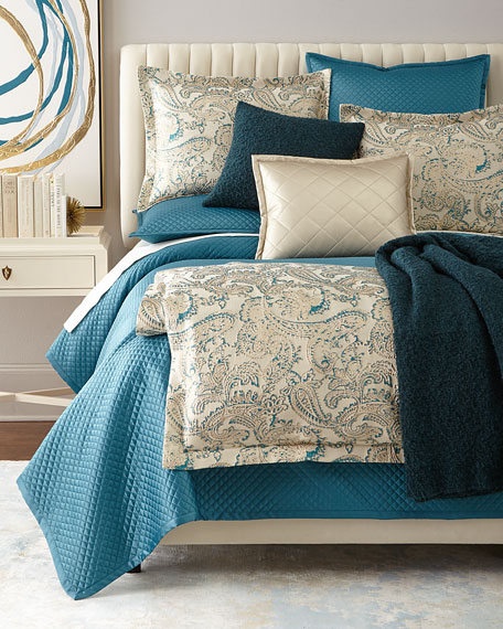 King Diamond 4-Piece Coverlet Set