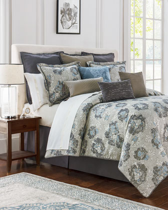 Blossom Pewter Bedding