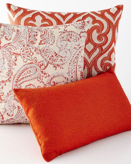 Whimsical Mango Pillow