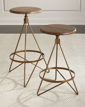 Dakota Swivel Barstool & Counter Stool