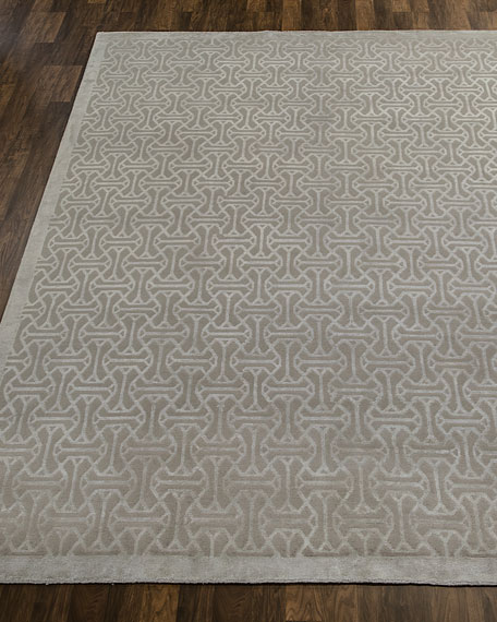 Canton Stone Hand-Knotted Rug, 6' x 9'
