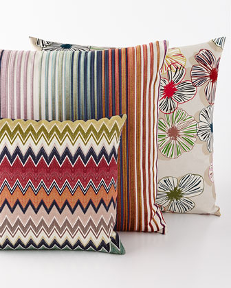 Togo, Tunisi, & Tsavo Pillows
