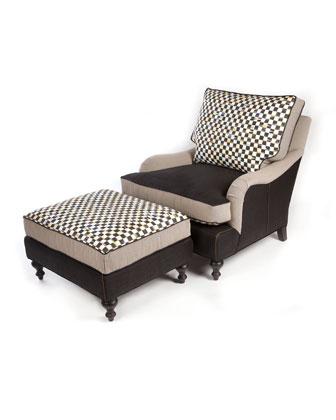 Underpinnings Chair U0026 Ottoman Quick Look. MacKenzie Childs
