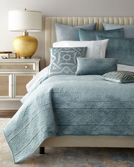 Spa King Quilt Set