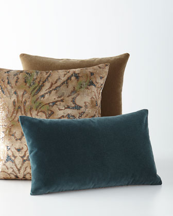 Plush Ocean Pillow, Shailene Pillow & Bach Truffle Pillow