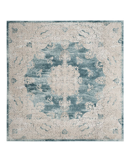 "Kailey Blue Rug, 5'1"" x 7'6"""