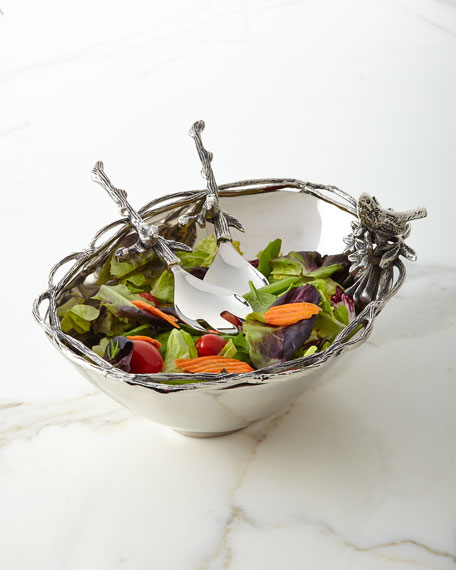 Birds & Branches Centerpiece Bowl
