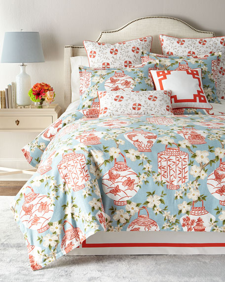 Queen Mikado Duvet Cover