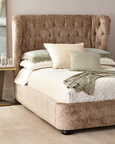Sheba Tufted Bed, Queen