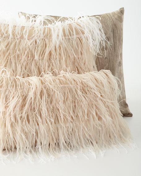 """Timber in Drift Pillow, 20""""Sq."""