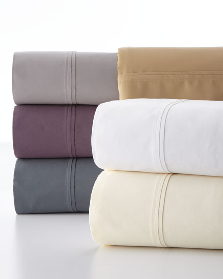 Standard Luxe Solid 510TC Pillowcases, Set of 2