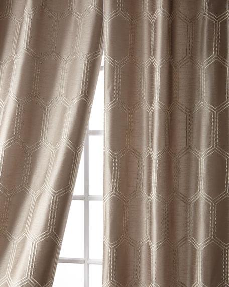 """Cylinder Taffeta Curtain, 108"""""""