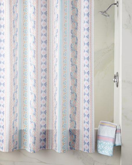 Lily Stripe Bath Towel