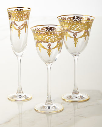Water Goblets  Set of 4 and Matching Items