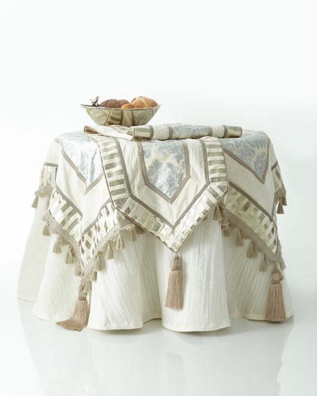 18x108 Ivory-Silver Table ru