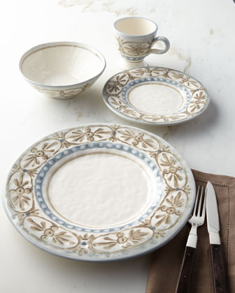 Libellula Dinner Plates, Set of 4 and Matching Items