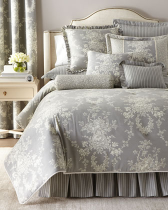 toile 3piece king comforter set