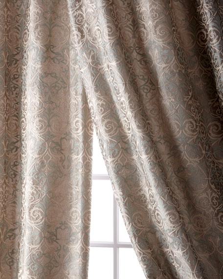 "Abound Taffeta Curtain, 108"""