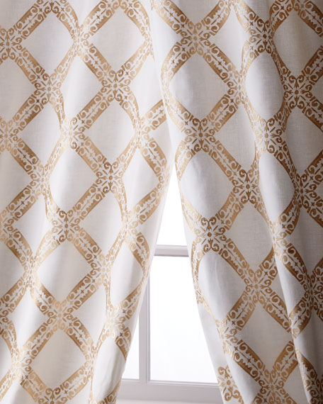 Stag Linen/Cotton Curtain, 96""
