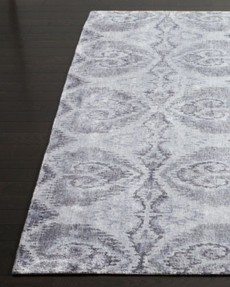 Owl Hand-Knotted Rug