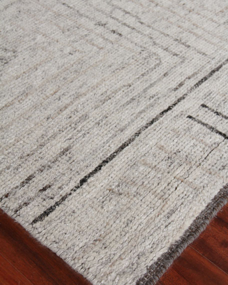 Balon Hand-Knotted Rug, 9' x 12'