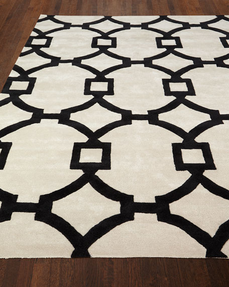 Trolley Hand-Tufted Rug, 9' x 12'