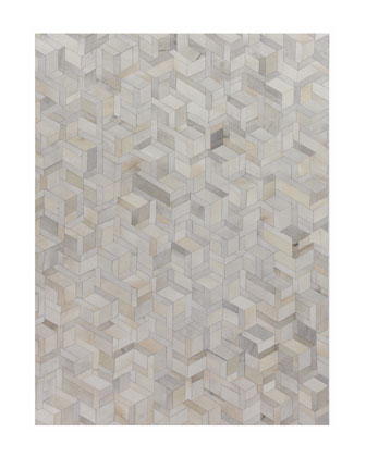Brielle Hairhide Hand-Stitched Rug, 5' x 8'  and Matching Items