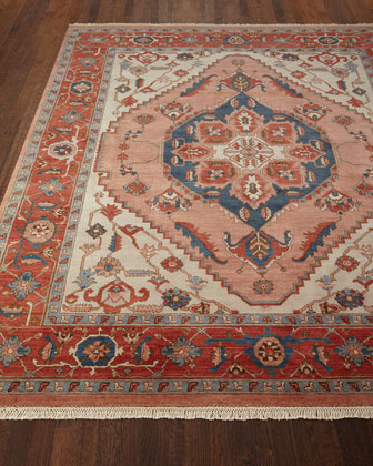 Destin Hand-Knotted Rug, 6' x 9'  and Matching Items