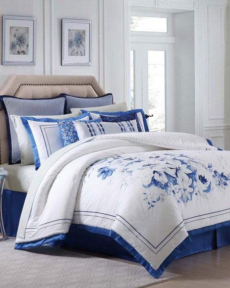 Alfresco Floral King Comforter Set