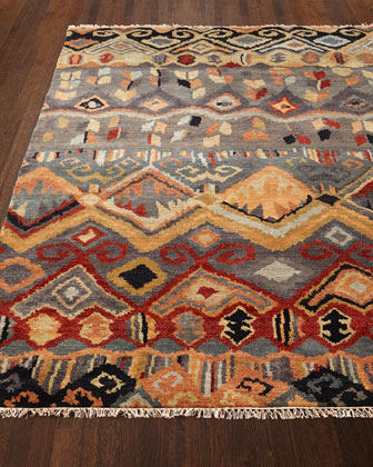 Noam Earth Hand-Knotted Rug